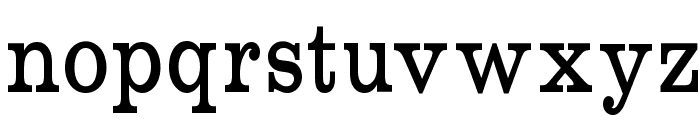 RoundslabSerif Font LOWERCASE