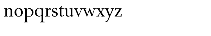 Roos Semi Bold Font LOWERCASE