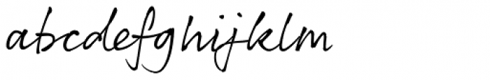 Rollerscript Smooth Font LOWERCASE