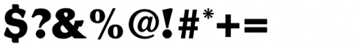 Romic ExtraBold Font OTHER CHARS