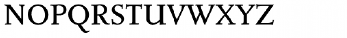 Roos SemiBold SC Font LOWERCASE