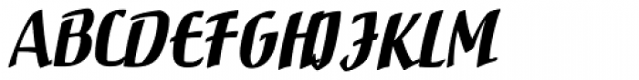 Rostrum Two Font UPPERCASE