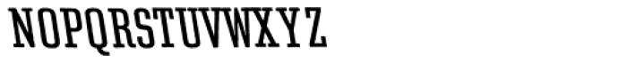 Rough Egyptienne Left Italic Font UPPERCASE
