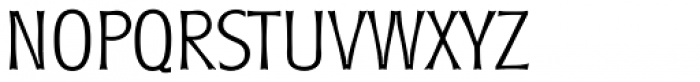 Roundest Serial ExtraLight Font UPPERCASE