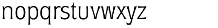 Roundest Serial ExtraLight Font LOWERCASE