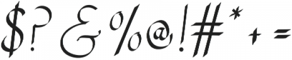 RSVP Calligraphy otf (400) Font OTHER CHARS