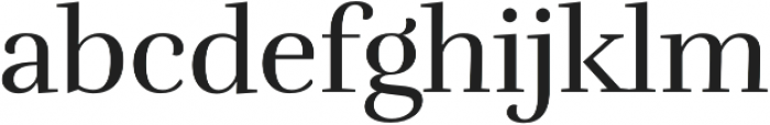Rufina Regular otf (400) Font LOWERCASE