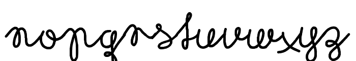 Rubican Font LOWERCASE