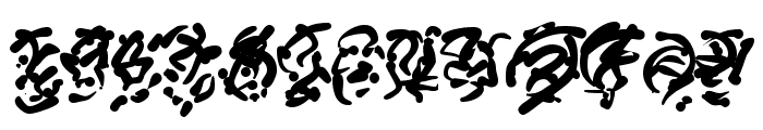 Runes of the Dragon Font UPPERCASE
