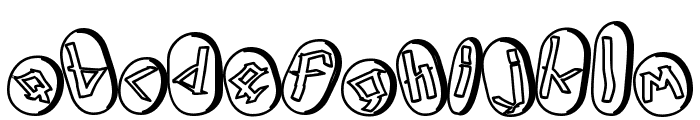 Runez of Omega Two Font LOWERCASE