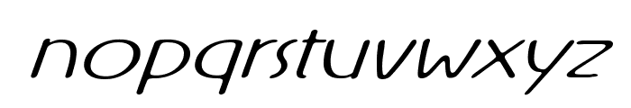 Rx-OneOne Font LOWERCASE