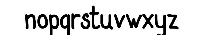 SanlabelloSolid Font LOWERCASE