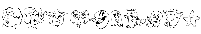 Sappy Mugs Font OTHER CHARS