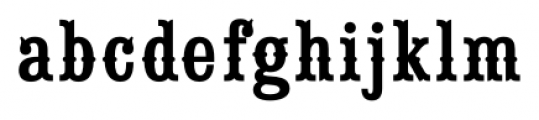 Saloon Girl Fill Font LOWERCASE