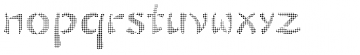 Sayonax Font LOWERCASE