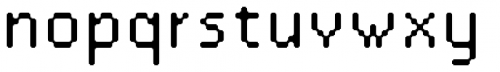 SB Standard Rounded Font LOWERCASE