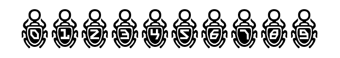 Scarab Border Font OTHER CHARS