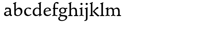 Schneidler Mediaeval Medium Font LOWERCASE