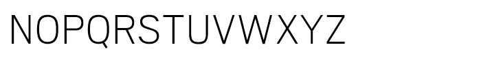 Scout Extra Light Font UPPERCASE