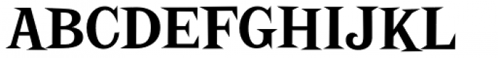 Screwby Condensed Bold Font UPPERCASE