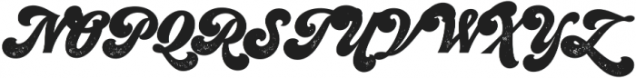 Seventies Printed otf (400) Font UPPERCASE