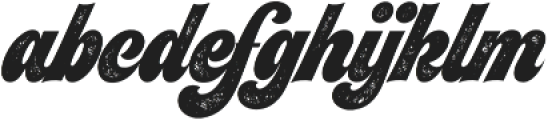 Seventies Printed otf (400) Font LOWERCASE