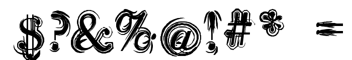 Sea Turtle Font OTHER CHARS