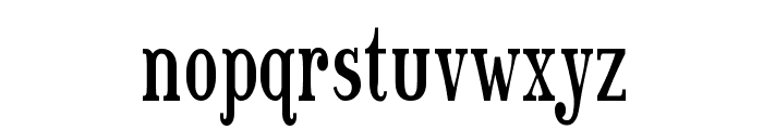 Sexsmith Font LOWERCASE