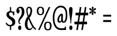 Sexsmith Regular Font OTHER CHARS