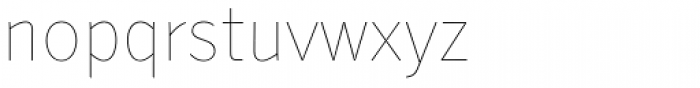 Secca Hairline 15 Font LOWERCASE