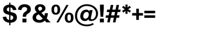 Sequel Sans SemiBold Display Font OTHER CHARS