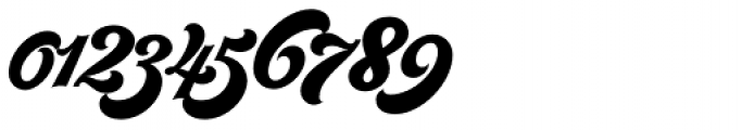 Seventies Font OTHER CHARS