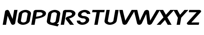 SF Atarian System Extended Italic Font UPPERCASE