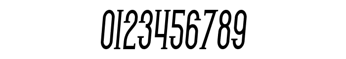 SF Gothican Condensed Bold Italic Font OTHER CHARS