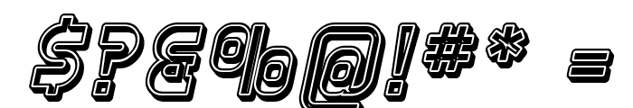 SF Plasmatica Open Italic Font OTHER CHARS