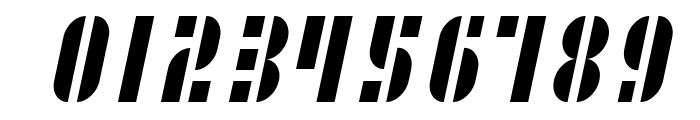 SF RetroSplice SC Condensed Font OTHER CHARS