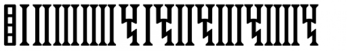 Sf Old South Arabian Serif Font OTHER CHARS