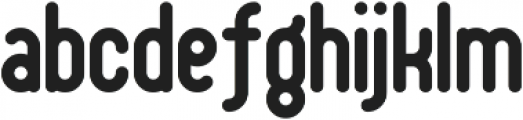 Shake Your Plums otf (400) Font LOWERCASE