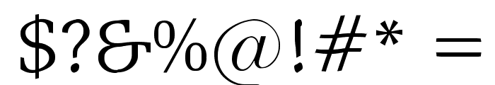 ShakeySlabserif Font OTHER CHARS