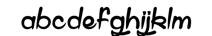 Shell Gate Font LOWERCASE