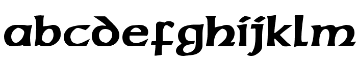 Sherwood Regular Font LOWERCASE