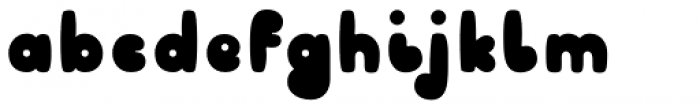 Sheepfill Font LOWERCASE