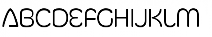 Silicone Light Font LOWERCASE