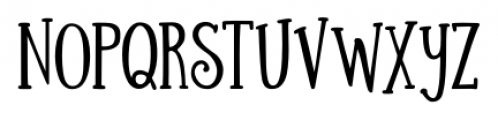 Silhouette Bold Font UPPERCASE