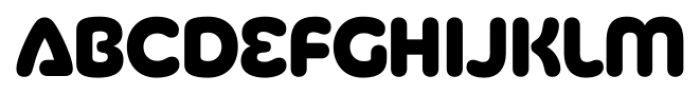 Silicone Heavy Font LOWERCASE