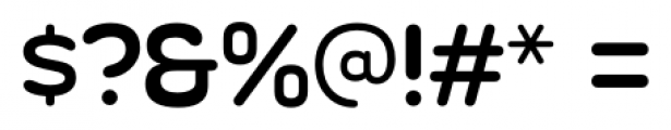 Silicone Regular Font OTHER CHARS