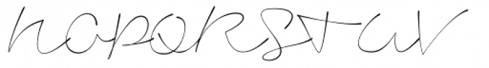 Signerica Thin Font UPPERCASE