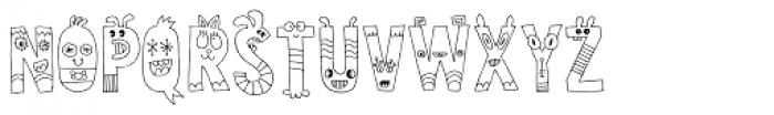 Sillyheads Font UPPERCASE