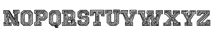 Sketch College Font LOWERCASE