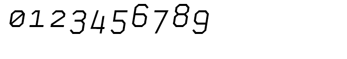 Skyhook Mono Italic Font OTHER CHARS